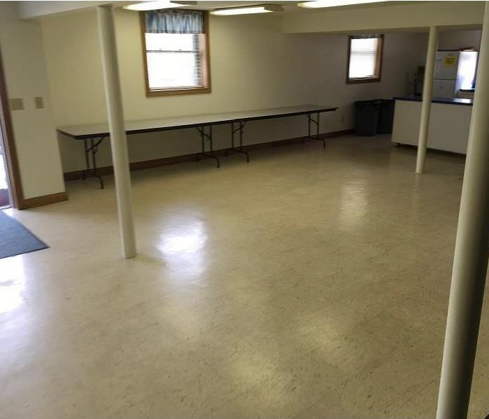Water Damage to Commercial Property in Falmouth, Kentucky After