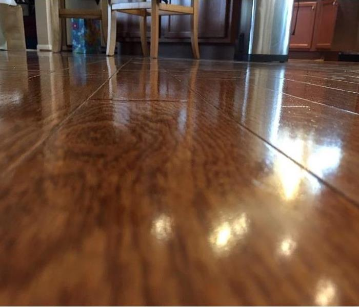 Close-up of hardwood floors in a home.