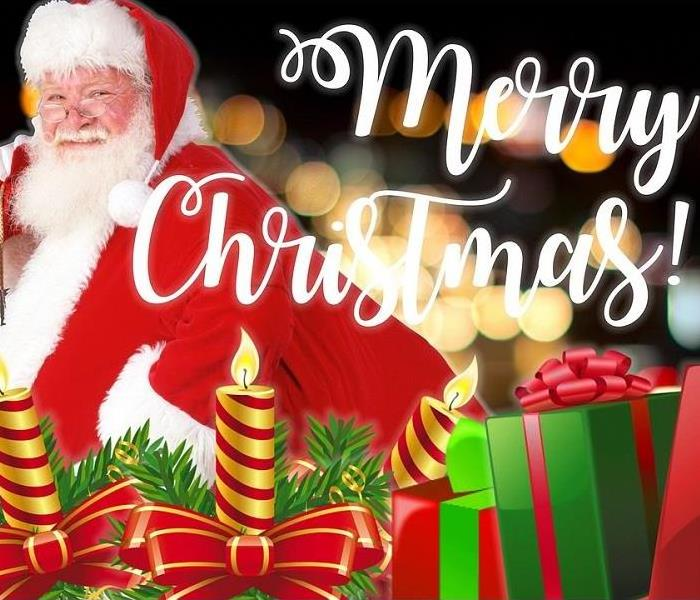 Mold Remediation Merry Christmas from SERVPRO of Boone County