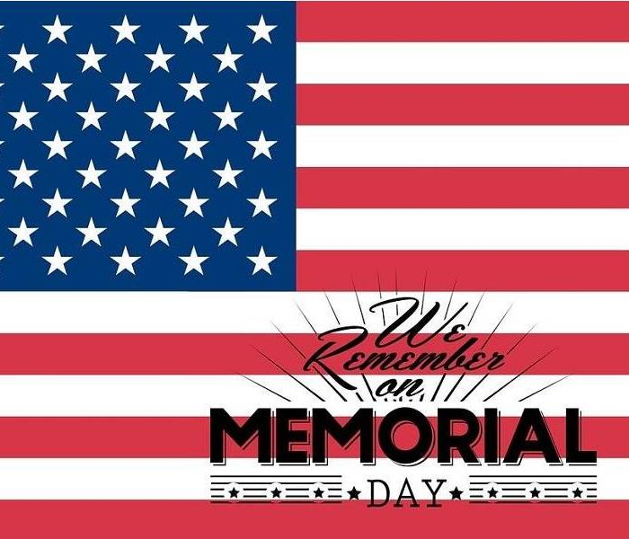 Mold Remediation Happy Memorial Day & Happy Grilling from SERVPRO of Boone County!