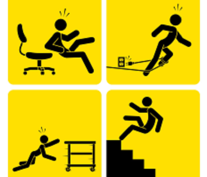 Commercial Steps to Safetly at the Office