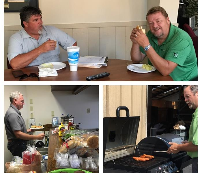 General SERVPRO of Boone County Holds Employee Appreciation Cook-Out